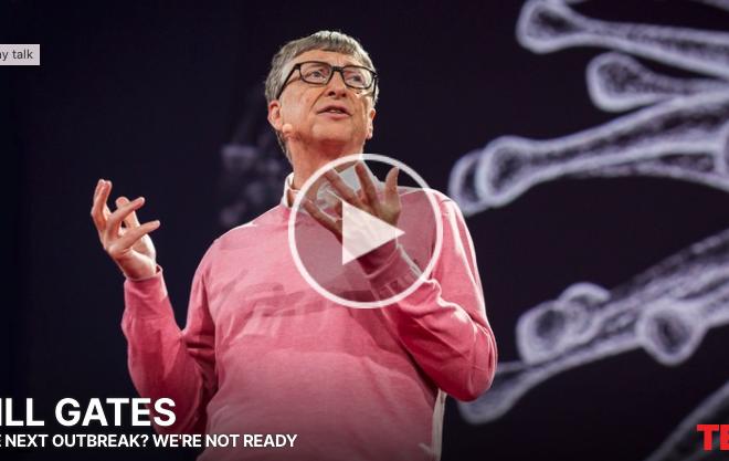 Hindsight: Wow, Bill Gates 2015 Ted Talk