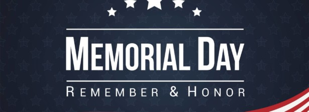 Memorial Day – a reminder